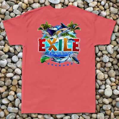 Exile Charters - Pocket Tee