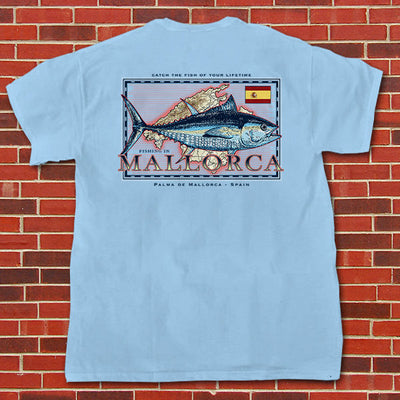 Fishing in Mallorca - Pocket Tee