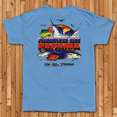 Hooked on Panama - Pocket Tee