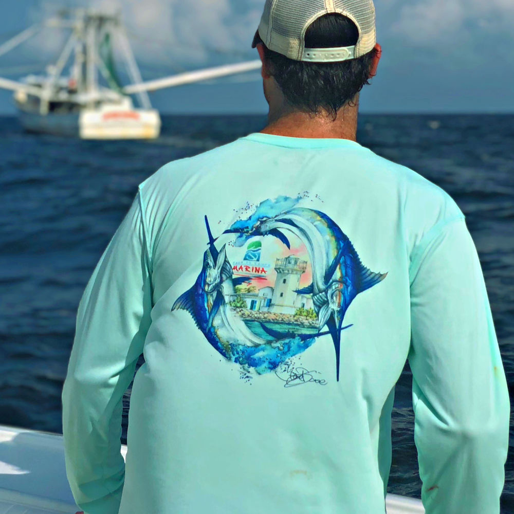 c6276494 Long Sleeve Shirts From the World's Top Fishing Charters – Red Tuna Shirt  Company