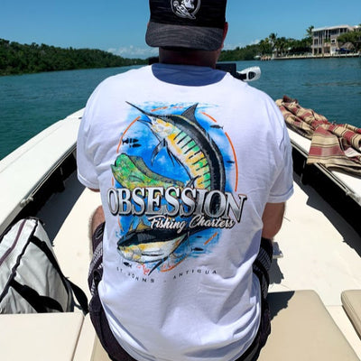 Obsession Sportfishing - Pocket Tee