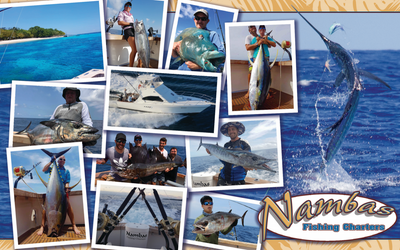 Nambas Fishing Charters - Long Sleeves