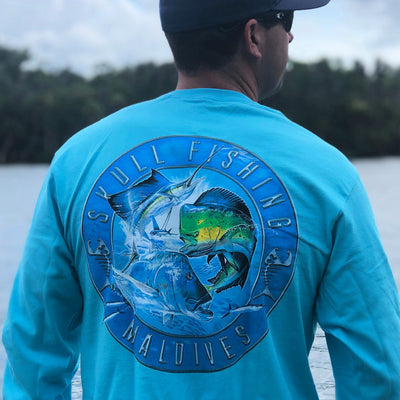 Skull Fishing - Long Sleeves
