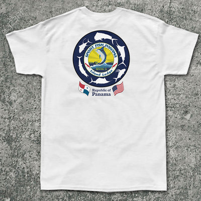 Sport Fish Panama Island Lodge - Pocket Tee