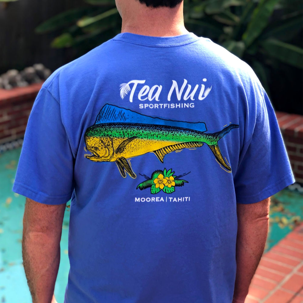 Tea Nui Sportfishing - Pocket Tee