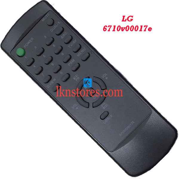 LG 6710V00017E replacement remote control