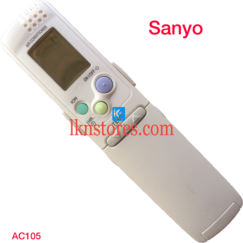 SANYO AC AIR CONDITION REMOTE COMPATIBLE AC105