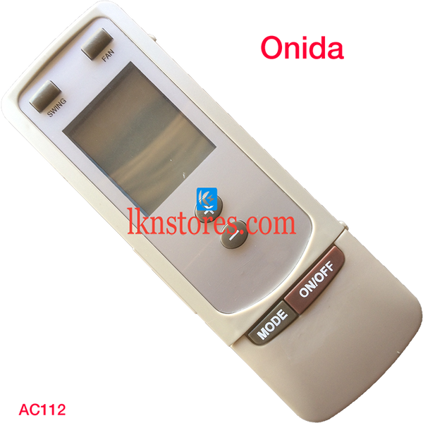 ONIDA AC AIR CONDITION REMOTE COMPATIBLE AC112