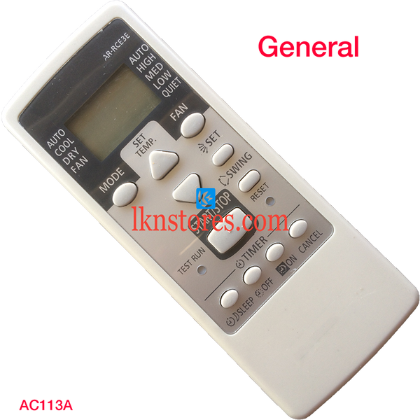 GENERAL AC AIR CONDITION REMOTE COMPATIBLE AC113A