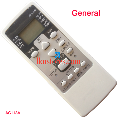 General AC Air Condition remote control