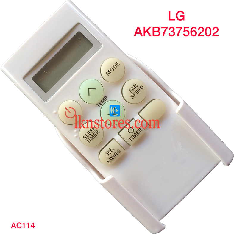LG AC AIR CONDITION REMOTE AKB73756202 COMPATIBLE AC114