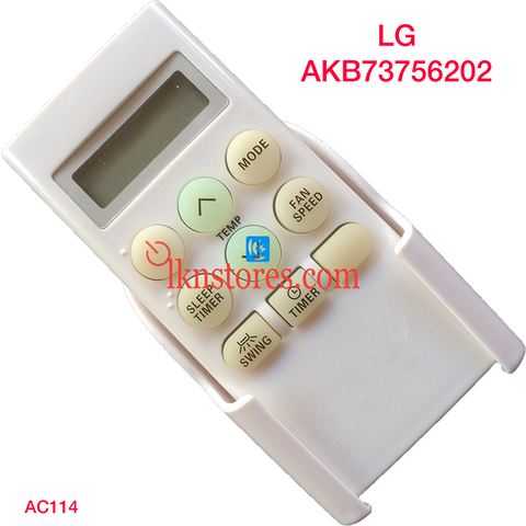 LG AC Air Condition remote control