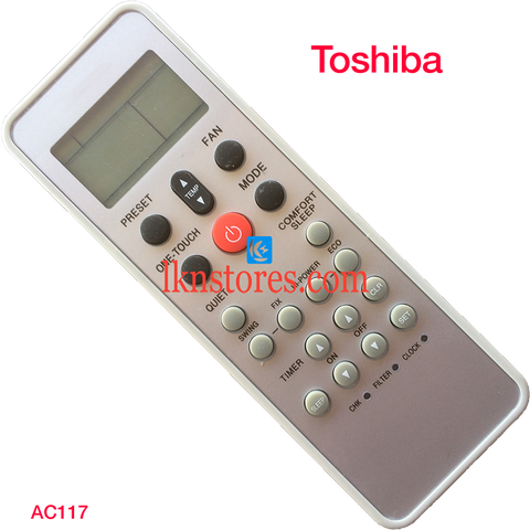 Toshiba AC Air Condition remote control