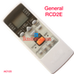 GENERAL AC AIR CONDITION REMOTE WINDOW 2 TON AR RCD2E COMPATIBLE AC123