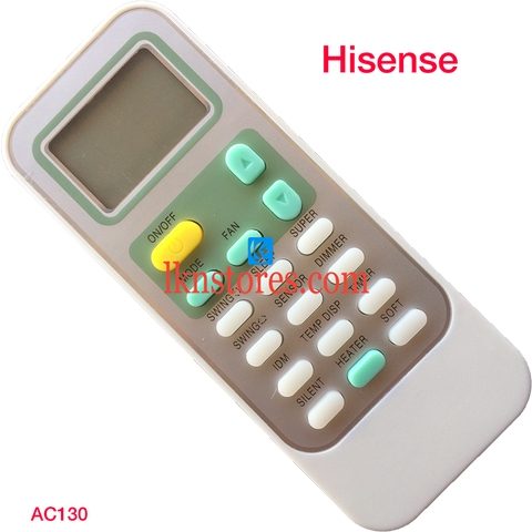 Hisense AC Air Condition remote control
