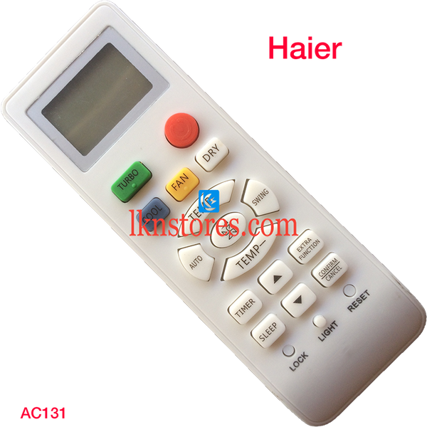 HAIER AC AIR CONDITION REMOTE COMPATIBLE AC131 - LKNSTORES