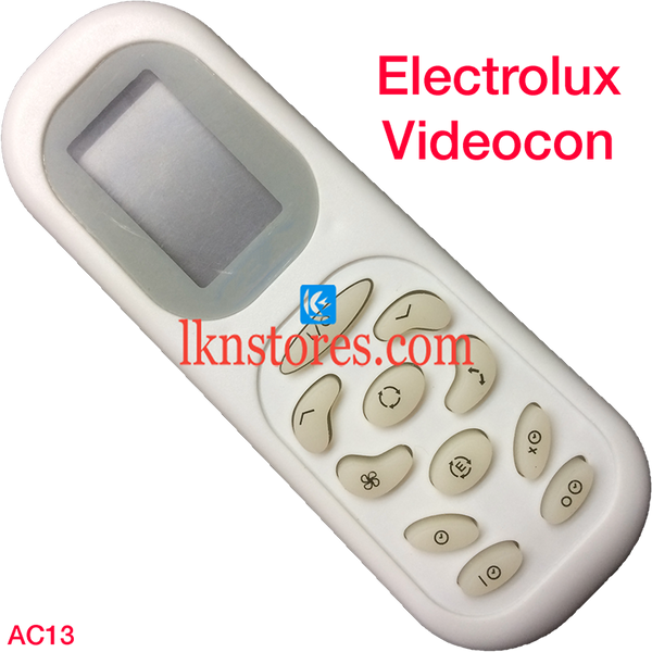 ELECTROLUX VIDEOCON AC AIR CONDITION REMOTE COMPATIBLE AC13 - LKNSTORES