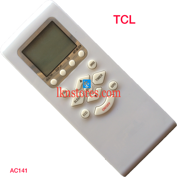 TCL AC AIR CONDITION REMOTE COMPATIBLE AC141