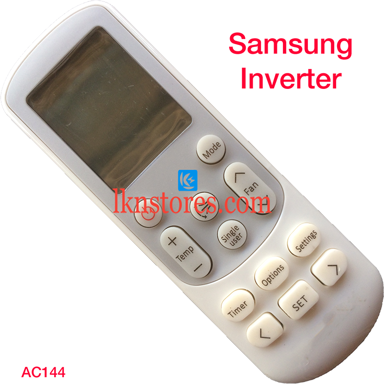 SAMSUNG AC AIR CONDITION REMOTE INVERTER COMPATIBLE AC144