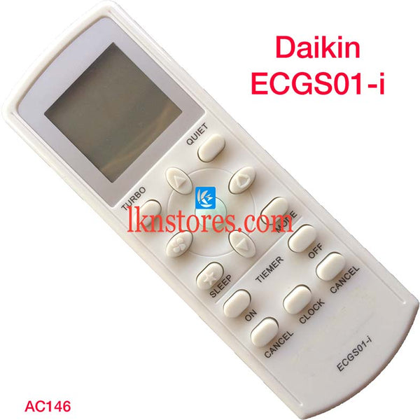 DAIKIN ECGS01-i AC AIR CONDITION REMOTE COMPATIBLE AC146
