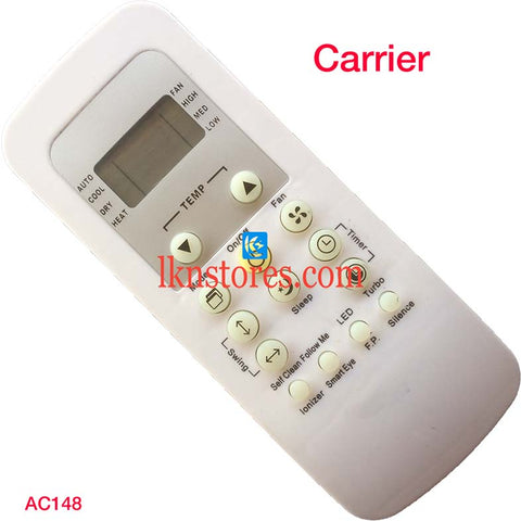 Carrier AC Air Condition remote control | LKNSTORES