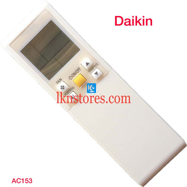 DAIKIN AC AIR CONDITION REMOTE COMPATIBLE AC153