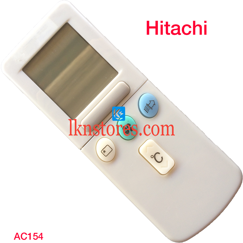 HITACHI AC AIR CONDITION REMOTE WITH FLAP COMPATIBLE AC154