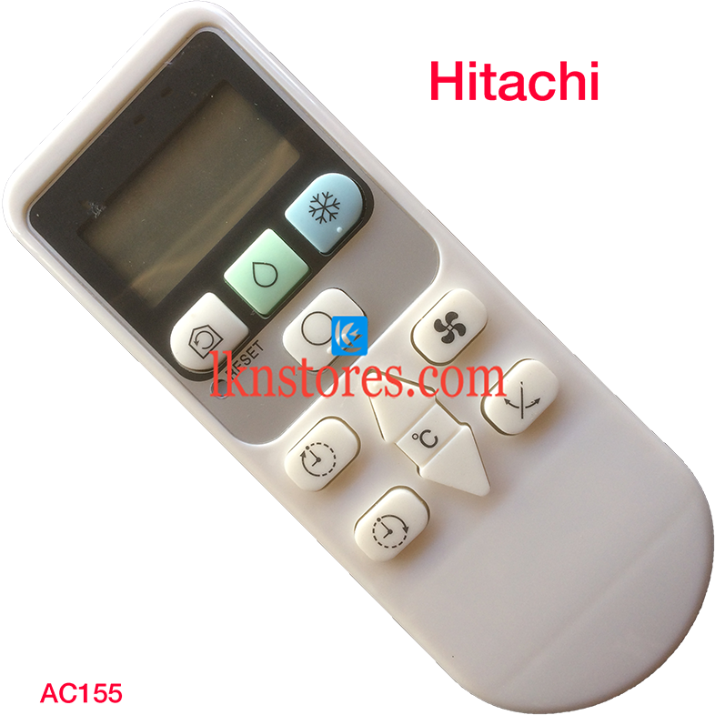 HITACHI AC AIR CONDITION REMOTE COMPATIBLE AC155