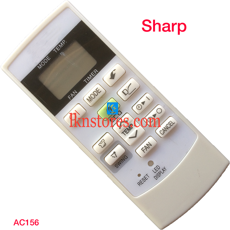 SHARP AC AIR CONDITION REMOTE COMPATIBLE AC156