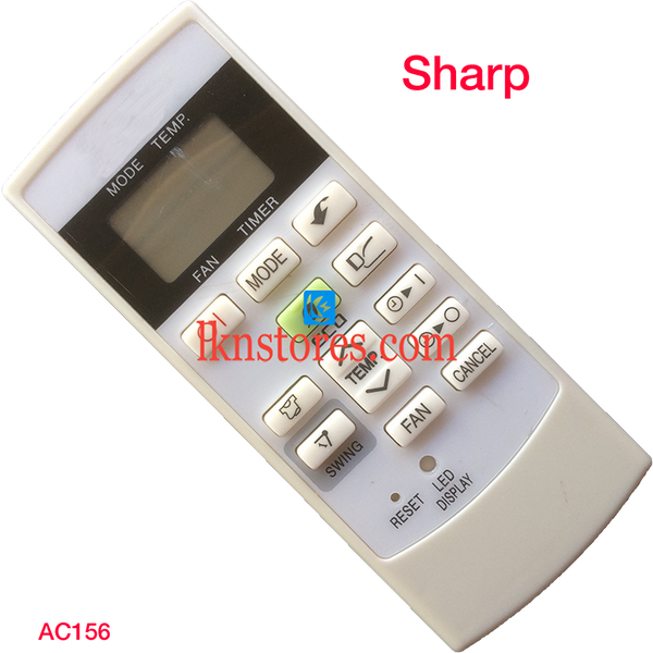SHARP AC AIR CONDITION REMOTE COMPATIBLE AC156 - LKNSTORES