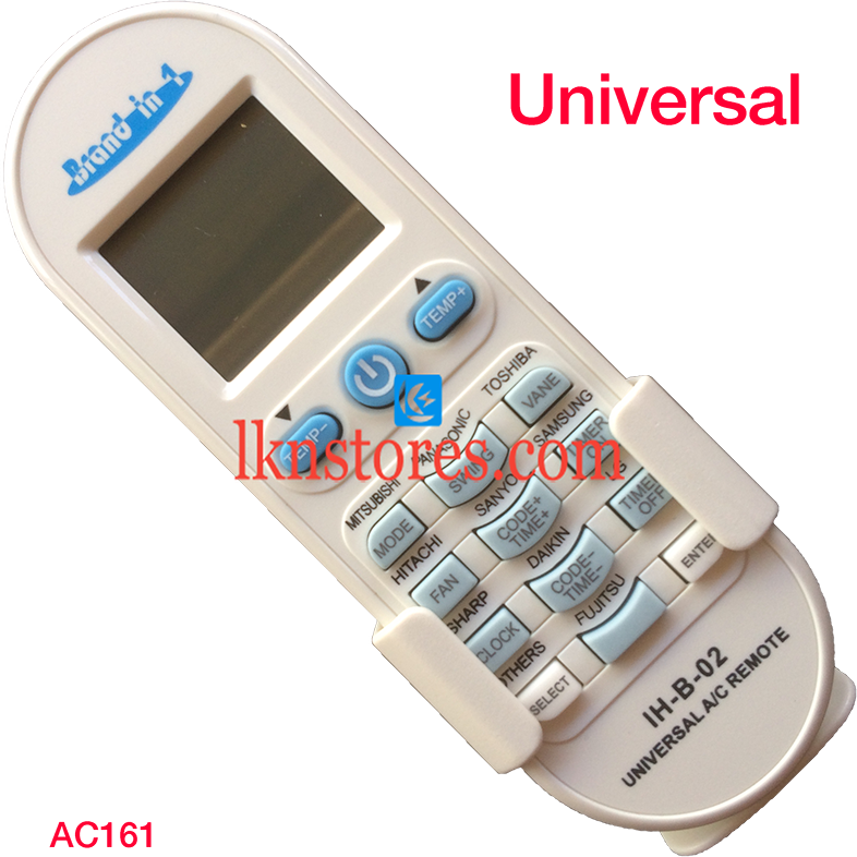 IH-B 02 UNIVERSAL AC AIR CONDITION REMOTE COMPATIBLE AC161