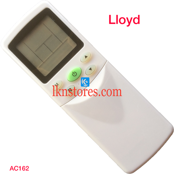 LLOYD AC AIR CONDITION REMOTE COMPATIBLE AC162