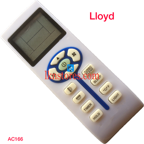 Lloyd AC Air Condition remote control