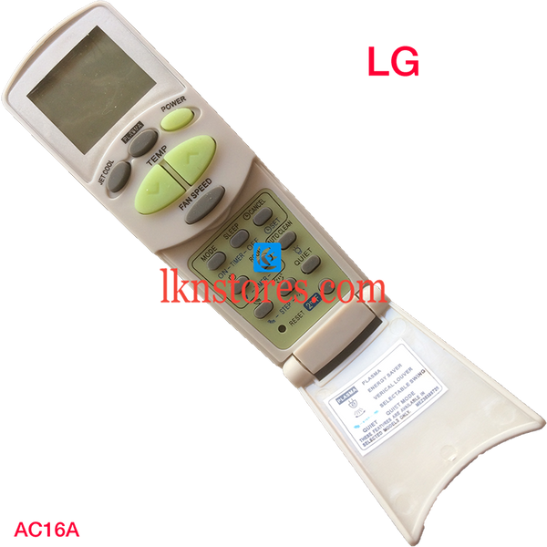 LG AC Air Condition Remote Compatible AC16 - LKNSTORES