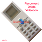 RECONNECT ONIDA VIDEOCON AC AIR CONDITION REMOTE COMPATIBLE AC171