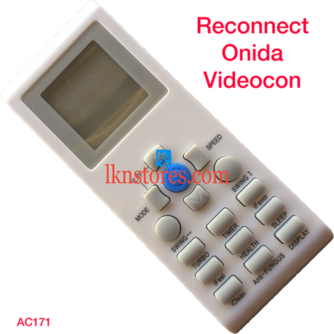 Reconnect AC Air Condition remote control