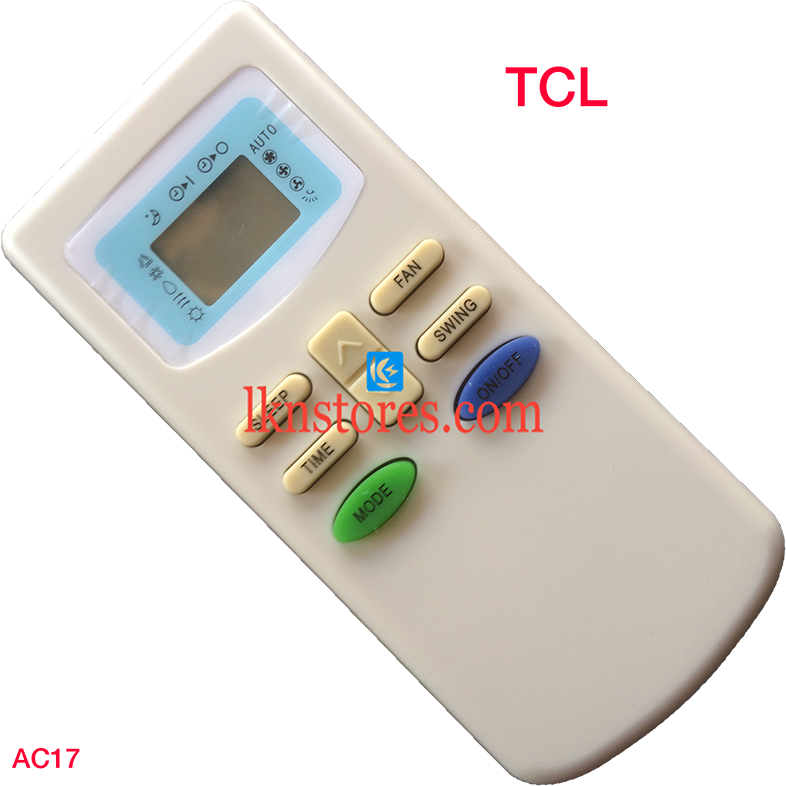TCL AC AIR CONDITION REMOTE COMPATIBLE AC17