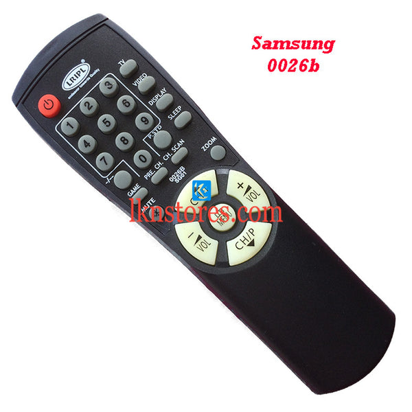 Samsung 0026B replacement remote control - LKNSTORES