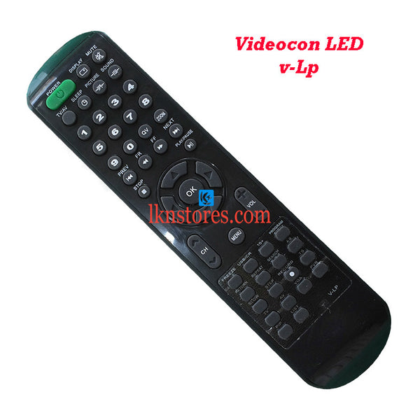 Videocon V LP LED replacement remote control - LKNSTORES