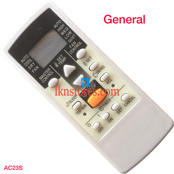 General AC Air Condition Remote Compatible AC23S