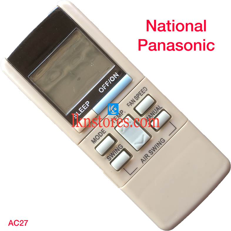 NATIONAL PANASONIC AC AIR CONDITION REMOTE COMPATIBLE AC27