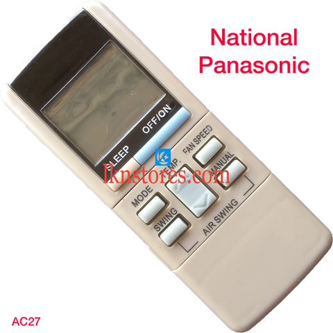 National AC Air Condition remote control