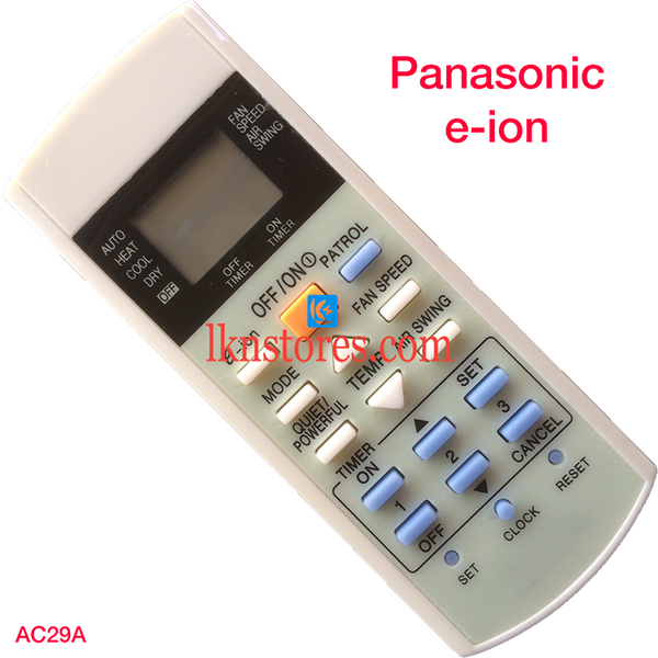 Panasonic AC Air Condition Remote Compatible AC29A - LKNSTORES