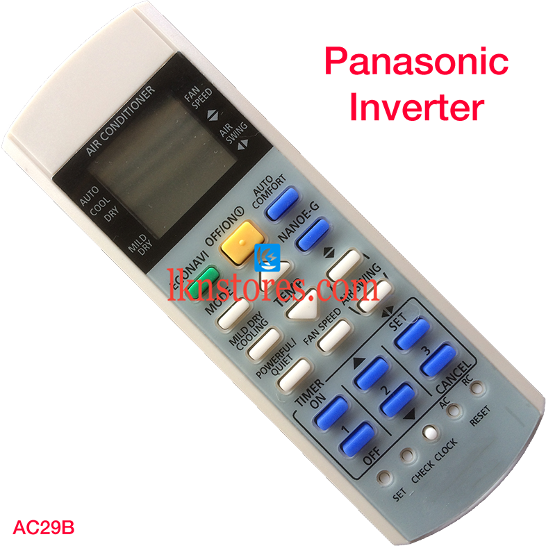 PANASONIC INVERTER AC AIR CONDITION REMOTE COMPATIBLE AC29B