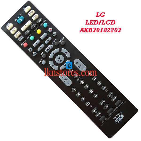 LG AKB30182203 LED replacement remote control - LKNSTORES