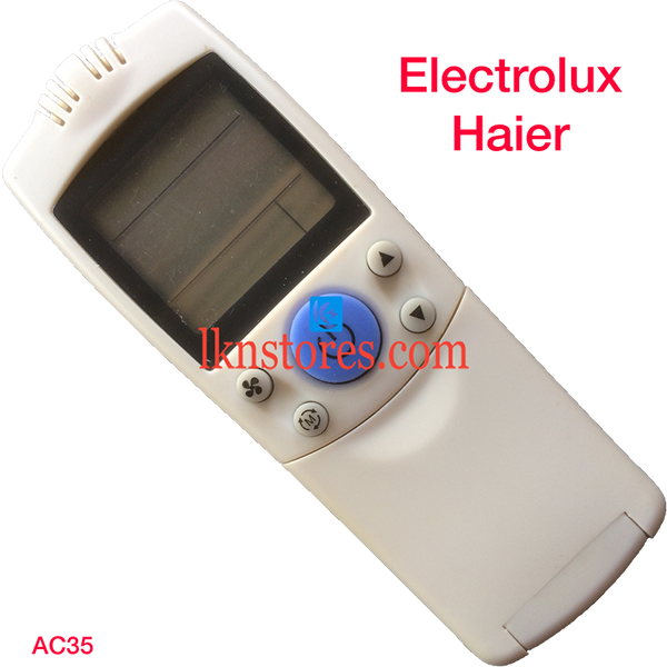 ELECTROLUX HAIER AC AIR CONDITION REMOTE COMPATIBLE AC35 - LKNSTORES