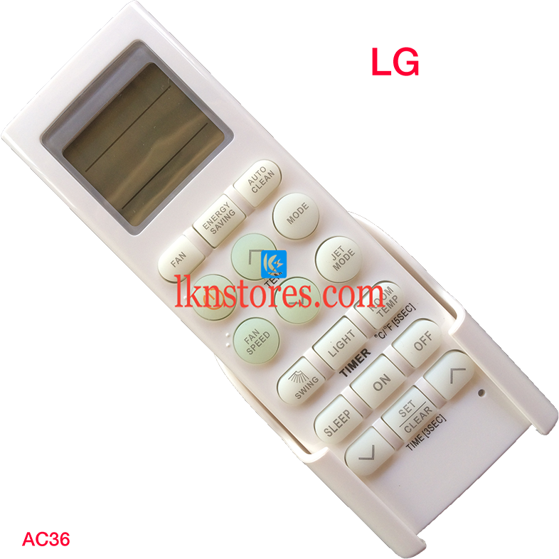 LG AC AIR CONDITION REMOTE COMPATIBLE AC36