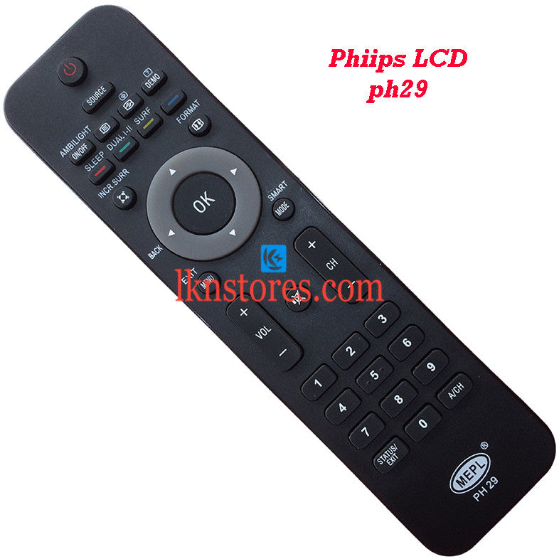 Philips PH29 LED replacement remote control