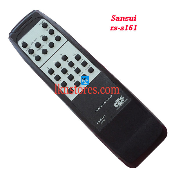 Sansui RS S161 replacement remote control