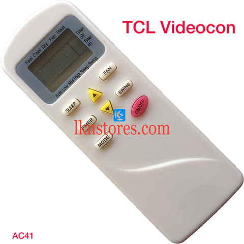 TCL AC Air Condition remote control
